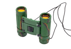 Binocular with the clarified optics Royalty Free Stock Photography