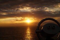 Binocular de un barco de cruceros Fotografía de archivo libre de regalías