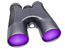 Binocular device for supervision Royalty Free Stock Image