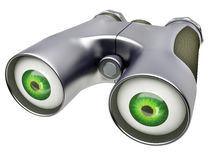 Binocular device Royalty Free Stock Photography