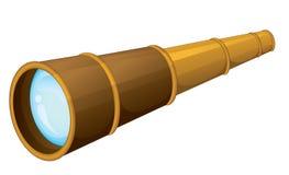 Binocular. Illustration of binocular on a white background vector illustration