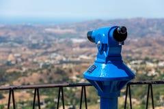 Binocular in Mijas Royalty Free Stock Photo