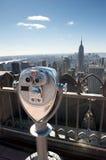 Binocular in new york Royalty Free Stock Image