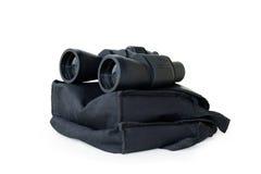 Binocular no fundo branco fotos de stock
