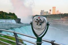 Binocular overlook American Falls Stock Image