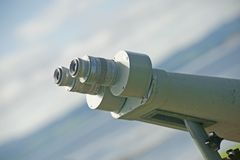 Binocular Telescope. Stock Photos