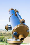 Binocular on the top Royalty Free Stock Image