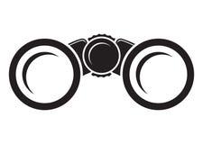 Binocular. Vector illustration of the black binocular on a white background vector illustration