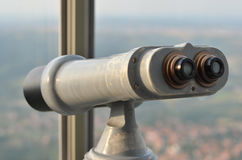 Binocular viewer Stock Photography
