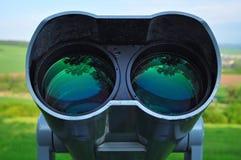 Binocular watch nature Stock Photo
