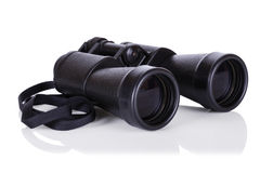Binocular  on white Stock Image