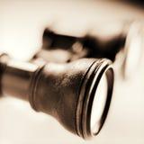 Binoculare antico Immagini Stock