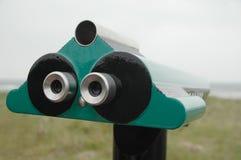 Binoculare verde fotografie stock