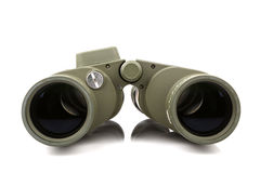 Binoculare verde Fotografia Stock