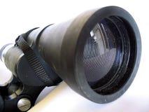 Binoculars. Half a binoculars stock photos