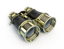 Binoculars. Isolated on white background - 3d render Stock Photography