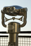 Binoculars. Viewing binoculars at the top of the catherdral dome in Florence Stock Image