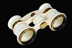 Binoculars. Opera-glass is made in the first half of the twentieth age Royalty Free Stock Images