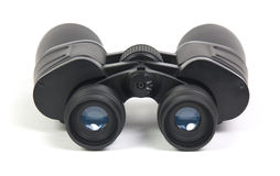 Binoculars. Isolated on a white background Royalty Free Stock Photo