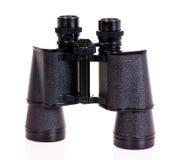 Binoculars. Old binoculars isolated on white background Royalty Free Stock Photos