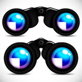 Binoculars. Illustration for your design Royalty Free Stock Photos