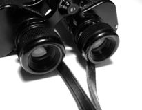 Binoculars 2. This is an image of my binoculars which are over 50 years old royalty free stock image