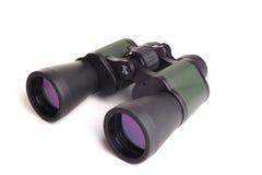 Binoculars. Photogrpah of binoculars,shot in studio against  a white background Stock Photography