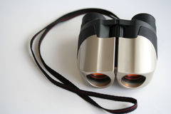 Binoculars. High key binoculars Royalty Free Stock Photos