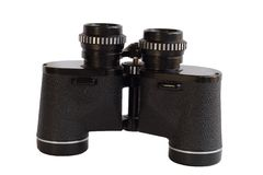 Binoculars. Binolculars - clipping path is included royalty free stock images