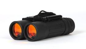Binoculars. A pair of orange lensed binoculars stock photos