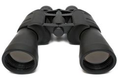 Binoculars Back - Top View w/ Path Stock Photography