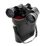 Binoculars  big and box Stock Photography