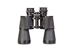 Binoculars in black Royalty Free Stock Photography