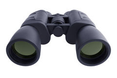 Binoculars in a black rubberized case Royalty Free Stock Photography