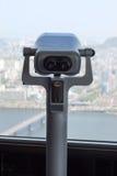Binoculars in 63 bulding in Seoul Royalty Free Stock Images