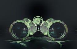 Binoculars camouflage style Royalty Free Stock Image