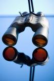 Binoculars, close-up Stock Image