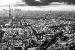 binoculars coin de fayette法国画廊高la运行在视图的巴黎 免版税图库摄影