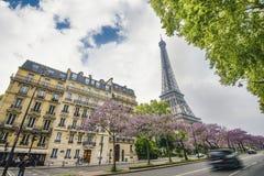 binoculars coin de fayette Γαλλία το υψηλό Λα στοών λειτούργησε πέρα από το Παρίσι επάνω στην όψη Στοκ Εικόνες