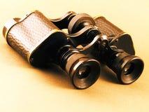 binoculars color vintage warm 库存图片