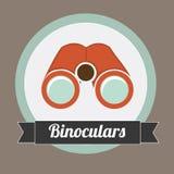 Binoculars design Royalty Free Stock Images