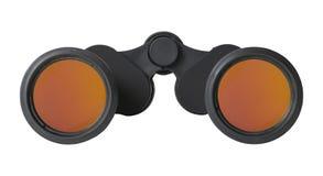 Binoculars Front View Royalty Free Stock Photos