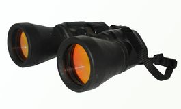Binoculars. Help you see distant objects Royalty Free Stock Photo