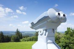Binoculars Hoher Peissenberg Royalty Free Stock Images