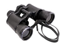 Binoculars horizontal Royalty Free Stock Photos
