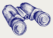 Binoculars Icon Stock Photos