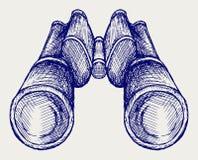 Binoculars Icon Stock Image