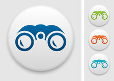 Binoculars icon Stock Images