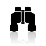 Binoculars icon Royalty Free Stock Photos