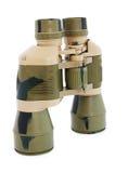 Binoculars isolated Royalty Free Stock Photo
